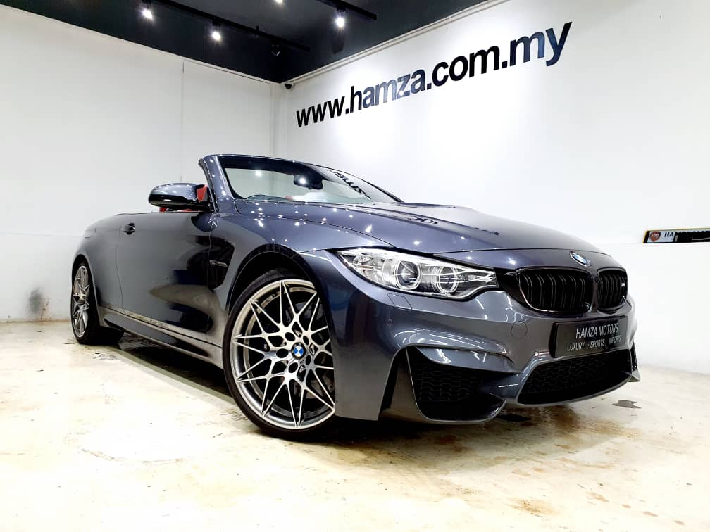 BMW M4 COMPETITION CONVERTIBLE 3.0